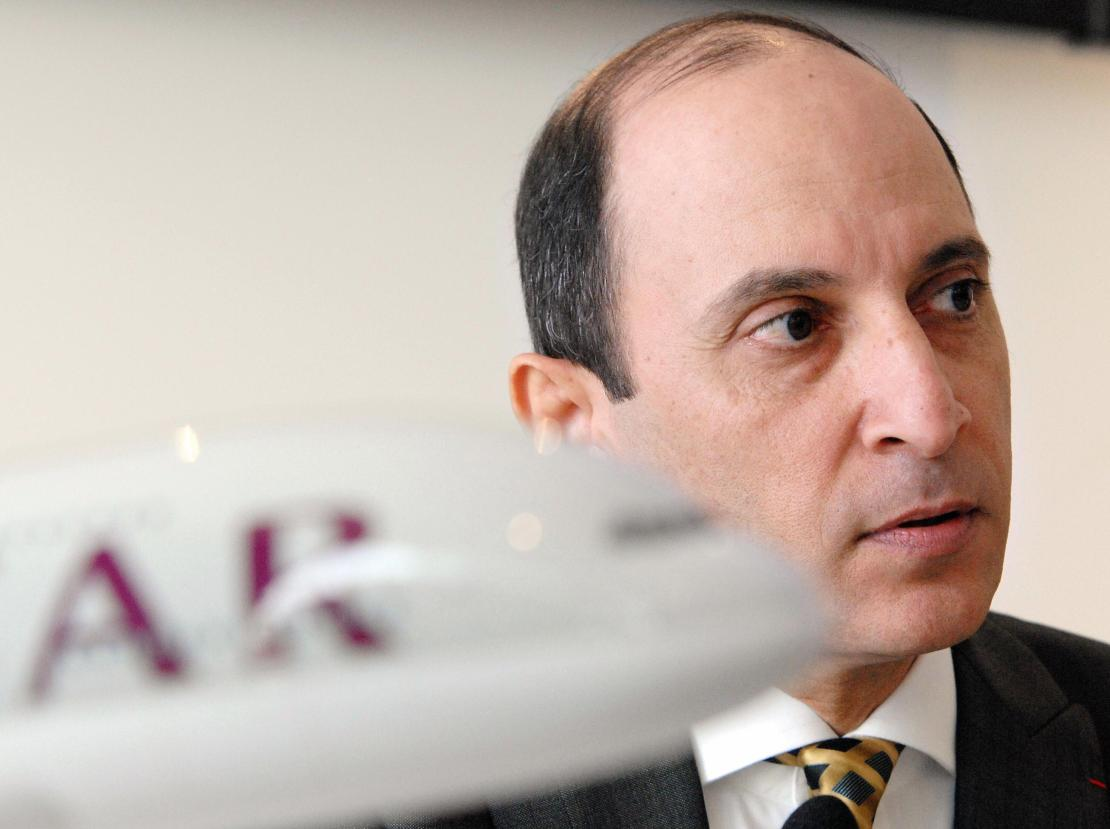 Qatar Airways Chief Executive Officer Ak