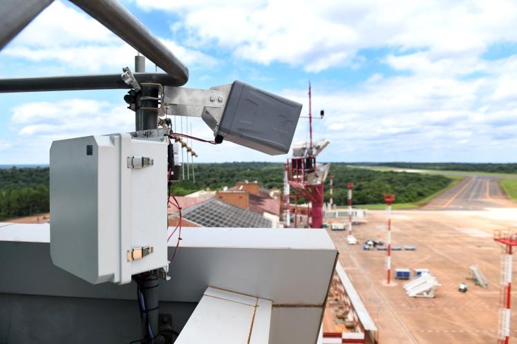 15.02.19 EANA_Se instaló en el aeropuerto de Iguazú el nuevo sistema de detección de actividad eléctrica.